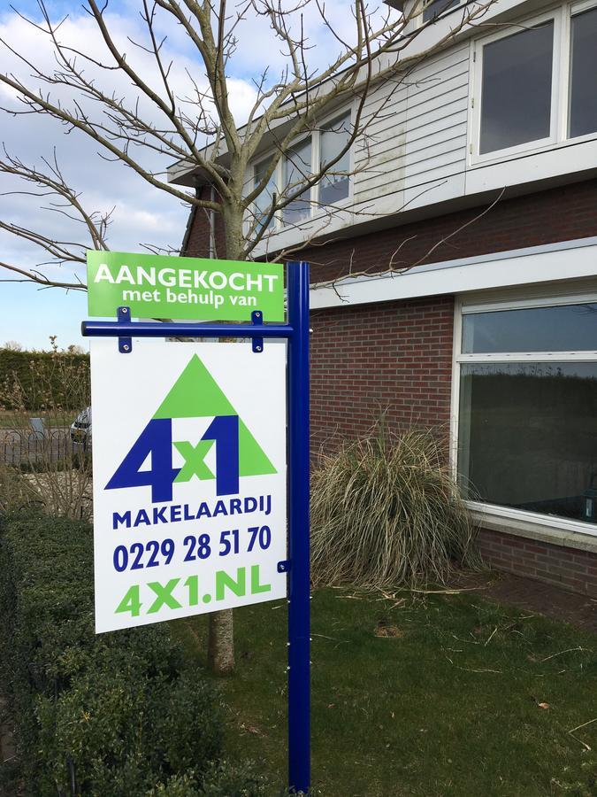 Deze woning is aangekocht met behulp van een aankoopmakelaar van 4x1 Makelaardij