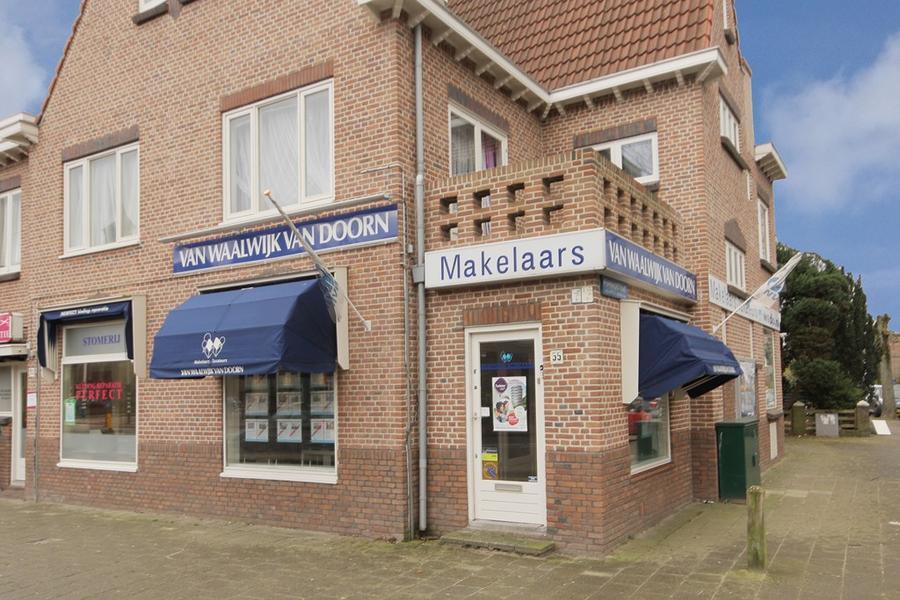 Voorzijde kantoor Haarlem