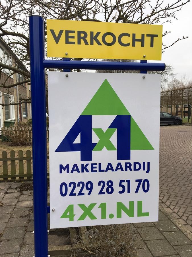 Uw woning verkopen; doet u met 4x1 Makelaardij, no cure no pay en zeer goede service.