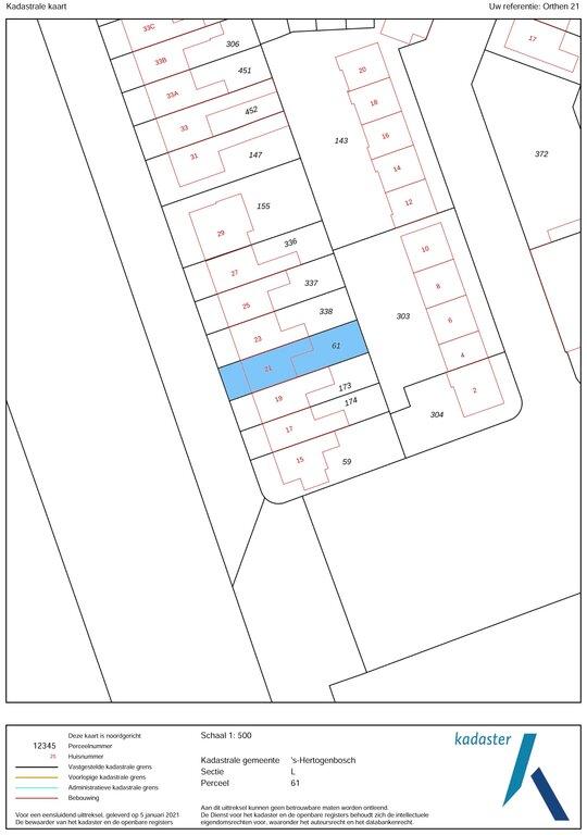 Orthen 21  5231 XN 'S-HERTOGENBOSCH