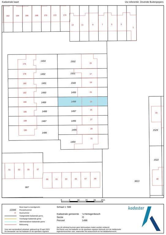 Zevende Buitenpepers 23  5231 GA 'S-HERTOGENBOSCH