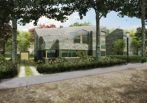 Half vrijstaand herenhuis - Drost + van Veen architecten - Stadhouderspark-2-1-Vera-do