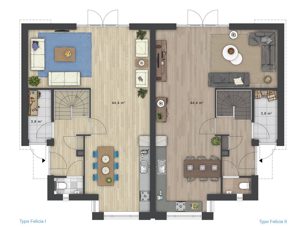 Emejing Indeling Woonkamer Tips Ideas - House Design Ideas 2018 ...