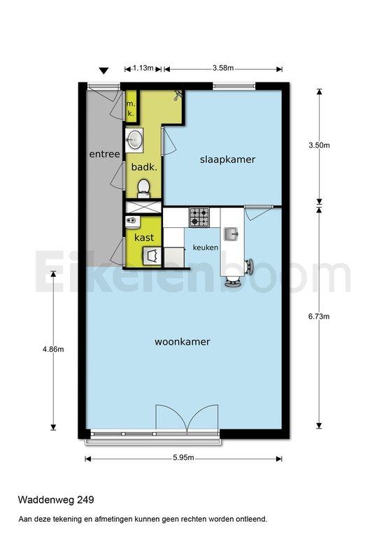 Waddenweg 249 in Hoofddorp 2134 XL: Appartement. - Makelaarshuijs ...