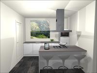 keuken virtuele styling
