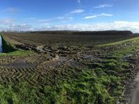 Kievitslanden - Tjalk in Almere 1349
