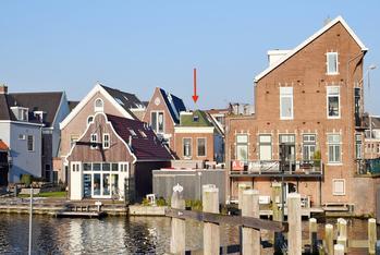 Scheepmakersdijk 9 Rood in Haarlem 2011 AS