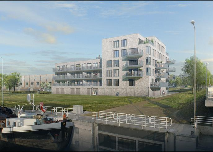 Wonen Aan Het Markkanaal (Bouwnummer 21) in Oosterhout 4906