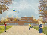 Voorhof (Bouwnummer A6) in Nagele 8308 AC