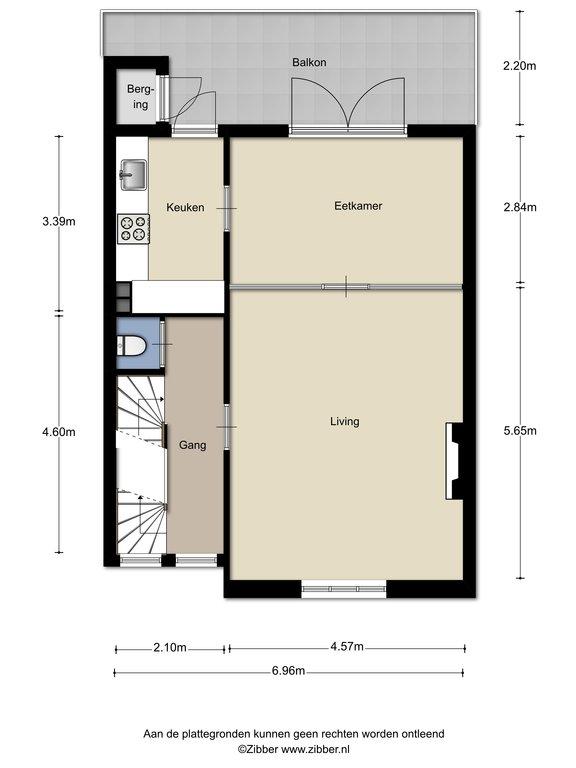 Hertog Hendriksingel 96 in \'S-Hertogenbosch 5216 BD: Appartement ...