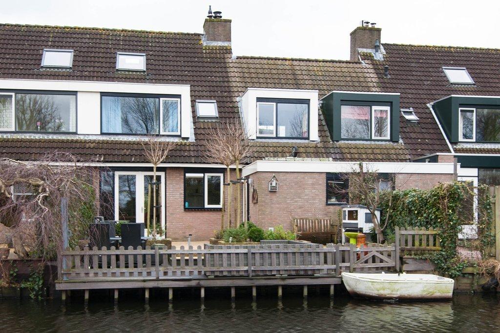 T Vormige Vlondertuin : Punterwerf 8 in gouda 2804 lp: woonhuis. viavesta makelaars