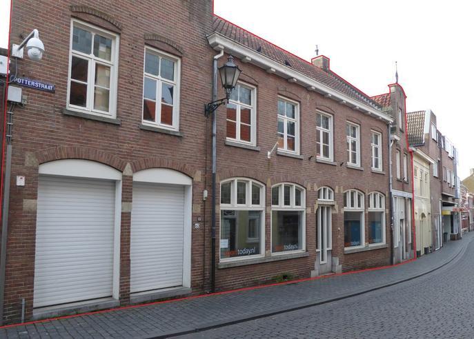 Potterstraat 58 / 60 in Bergen Op Zoom 4611 NK
