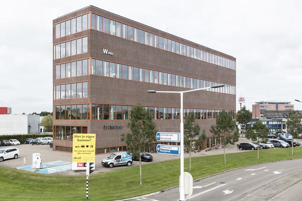 Nog 280 m² kantoor te huur op de Maanlander 14 in Amersfoort via ReBM Bedrijfsmakelaardij op de 4e verdieping op bedrijventerrein Calveen in Amersfoort-Noord