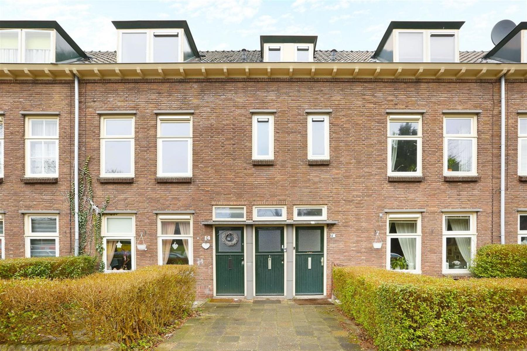 Petemoederslaan 14 bis in utrecht 3552 ah: appartement. renkema