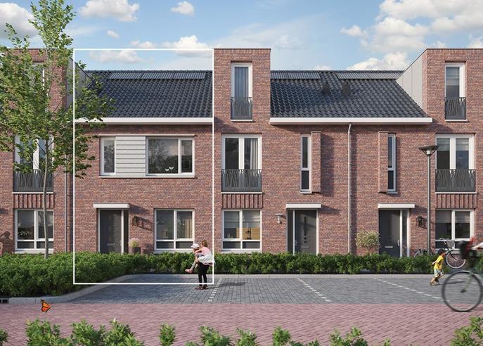 In Het Hart (Bouwnummer 102) in Oosterhout 4901 MD
