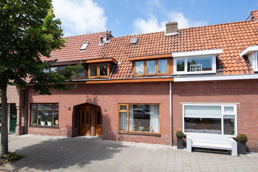 Cederstraat 39 In Ijmuiden 1971 Kb Woonhuis Van Waalwijk Van