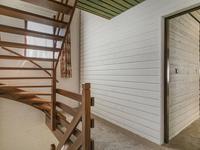 Indeling 1e verdieping: <BR>Overloop met toegang tot de slaapkamers en de badkamer.