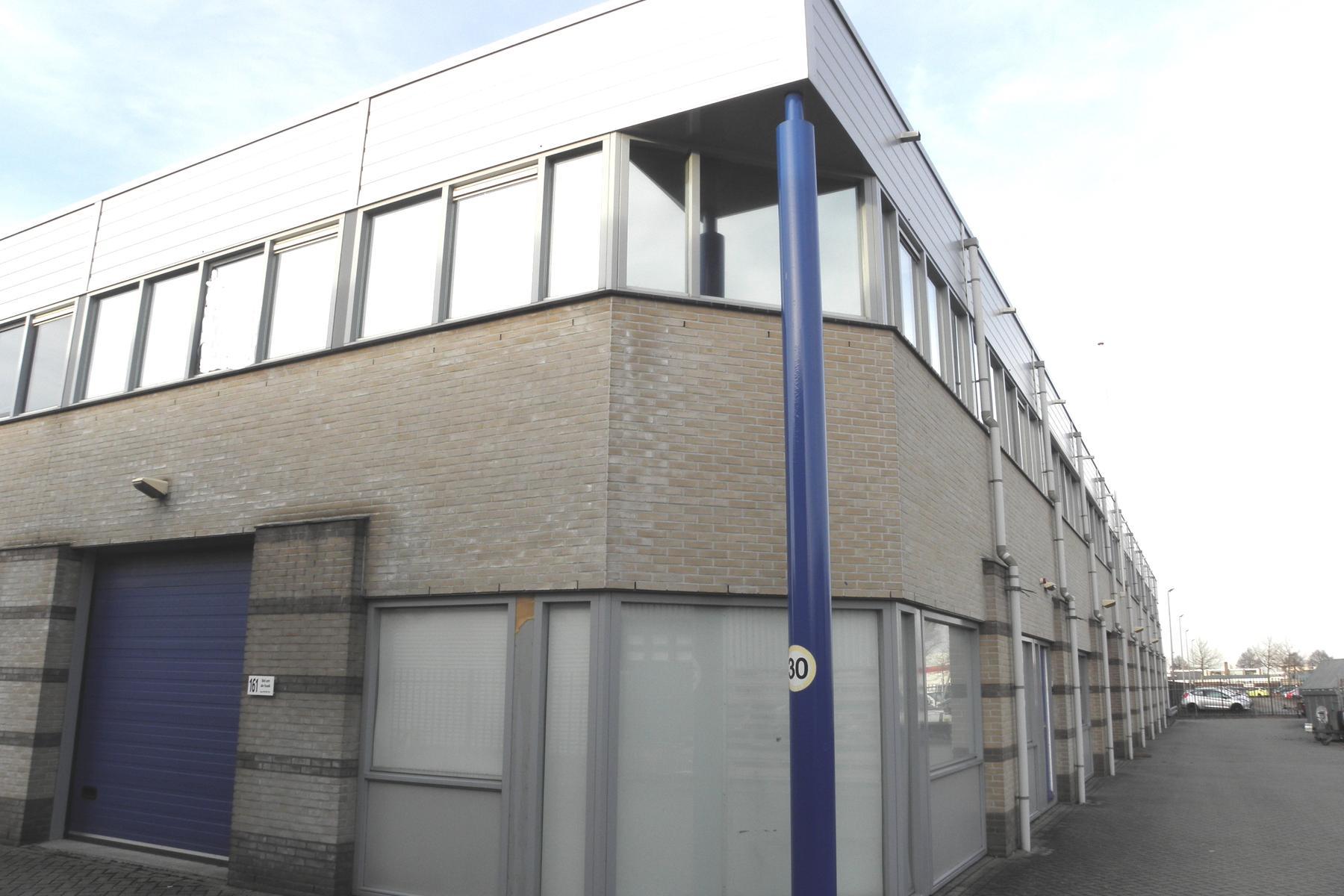 168 m² bedrijfsruimte te huur Chromiumweg 161 Amersfoort via ReBM Bedrijfsmakelaardij Amersfoort