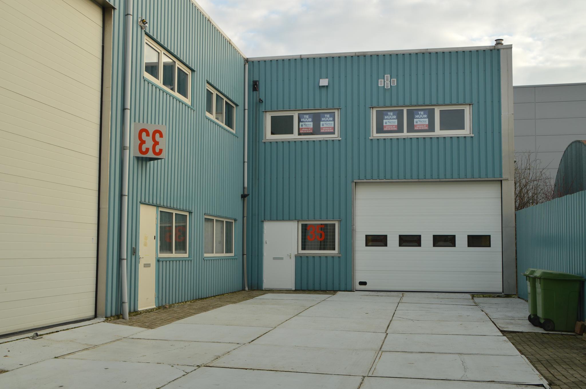 Garage Huren Almere : Keersluisweg 35 in almere 1332 ee: bedrijfsruimte te huur. siewe