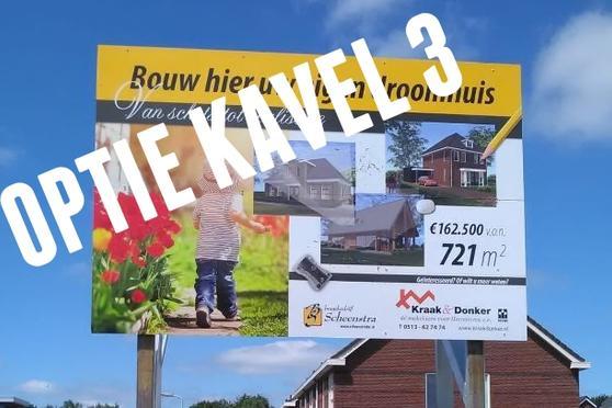 Burgemeester Selhorststraat Kavel 3 in Gorredijk 8401 NZ