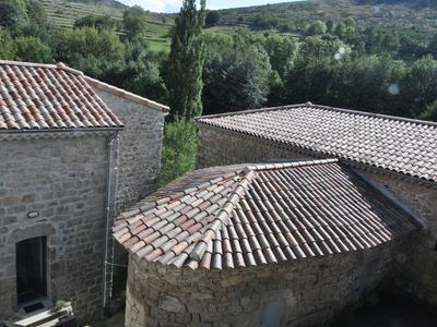 Ardèche Frankrijk in Saint-Pierville