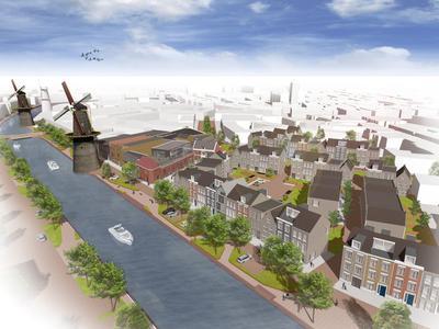 De productiepanden van Herman Jansen worden gesloopt en maken plaats voor nieuwbouw herenhuizen. De historische panden blijven bewaard en maken deel uit van het nieuwe plan waar deze artist impression een goed beeld van geeft.