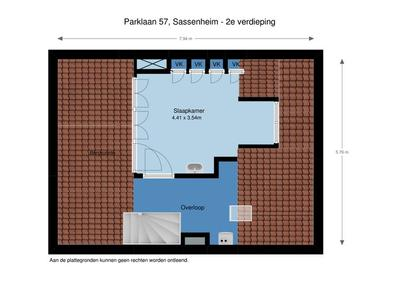 Parklaan 57 in Sassenheim 2171 EC