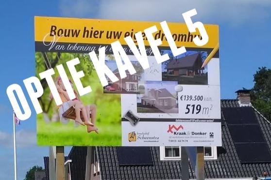 Burgemeester Selhorststraat Kavel 5 in Gorredijk 8401 NZ