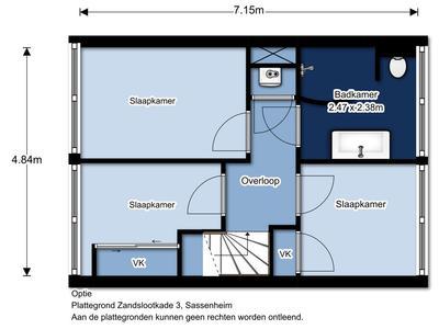 Zandslootkade 3 in Sassenheim 2171 XR