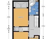 Heemskerklaan 30 in Naarden 1412 CJ