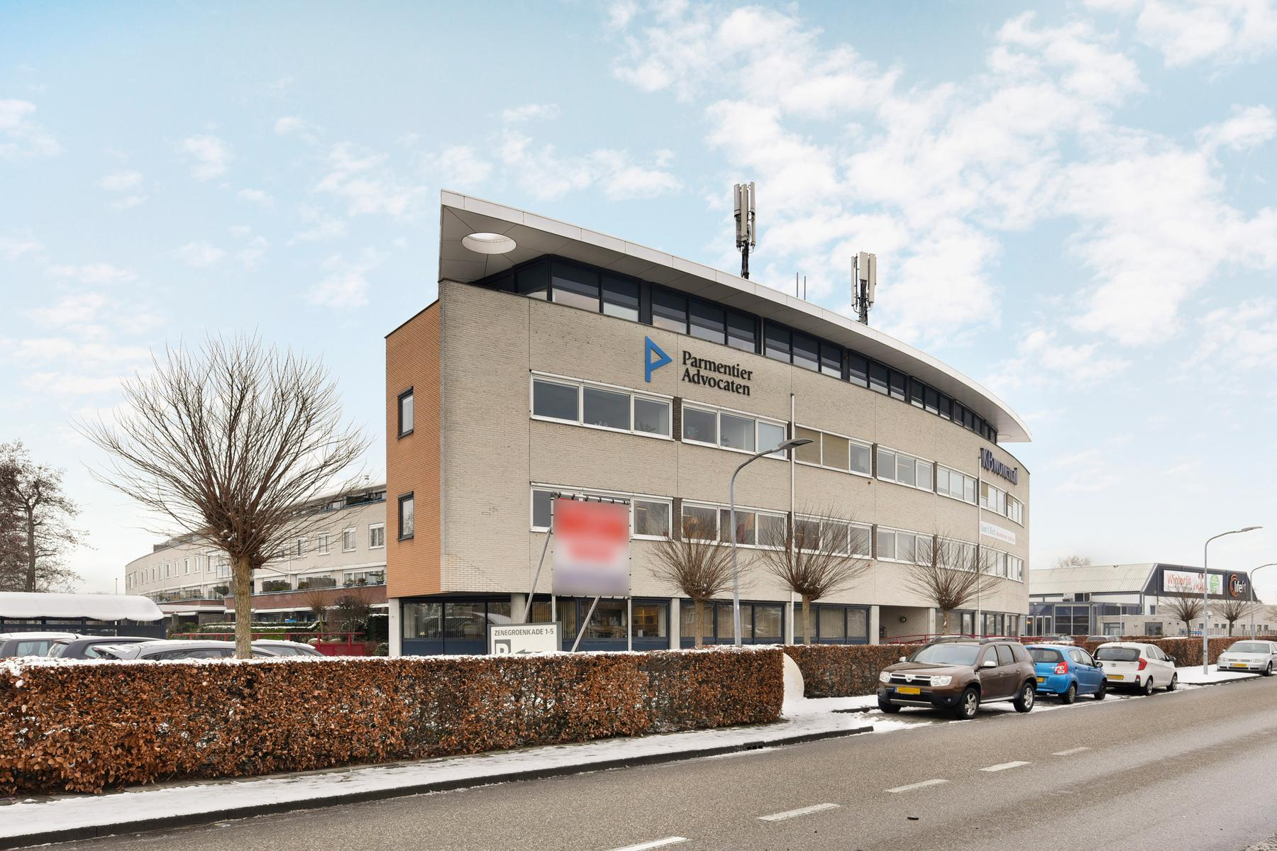 Zenegroenkade 1 in Haarlem 2015 KV