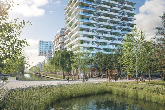 De Voortuinen (Bouwnummer 7.2) in Amsterdam 1014 BL