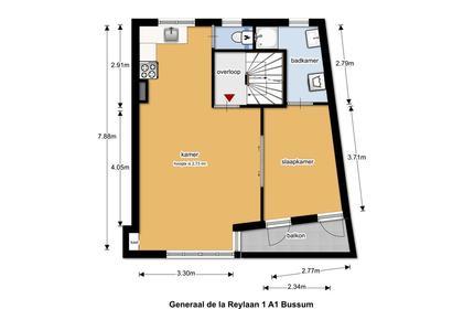 Generaal De La Reijlaan 1 A1 in Bussum 1404 BL