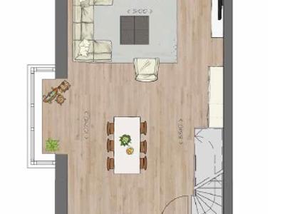 Bouwnummer 54 in Kaatsheuvel 5171 SB