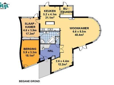 Pissarrohof 65 in Hoorn 1628 XG