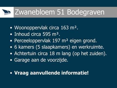 Zwanebloem 51 in Bodegraven 2411 MP