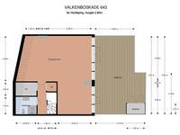 Valkenboskade 643 in 'S-Gravenhage 2563 JH