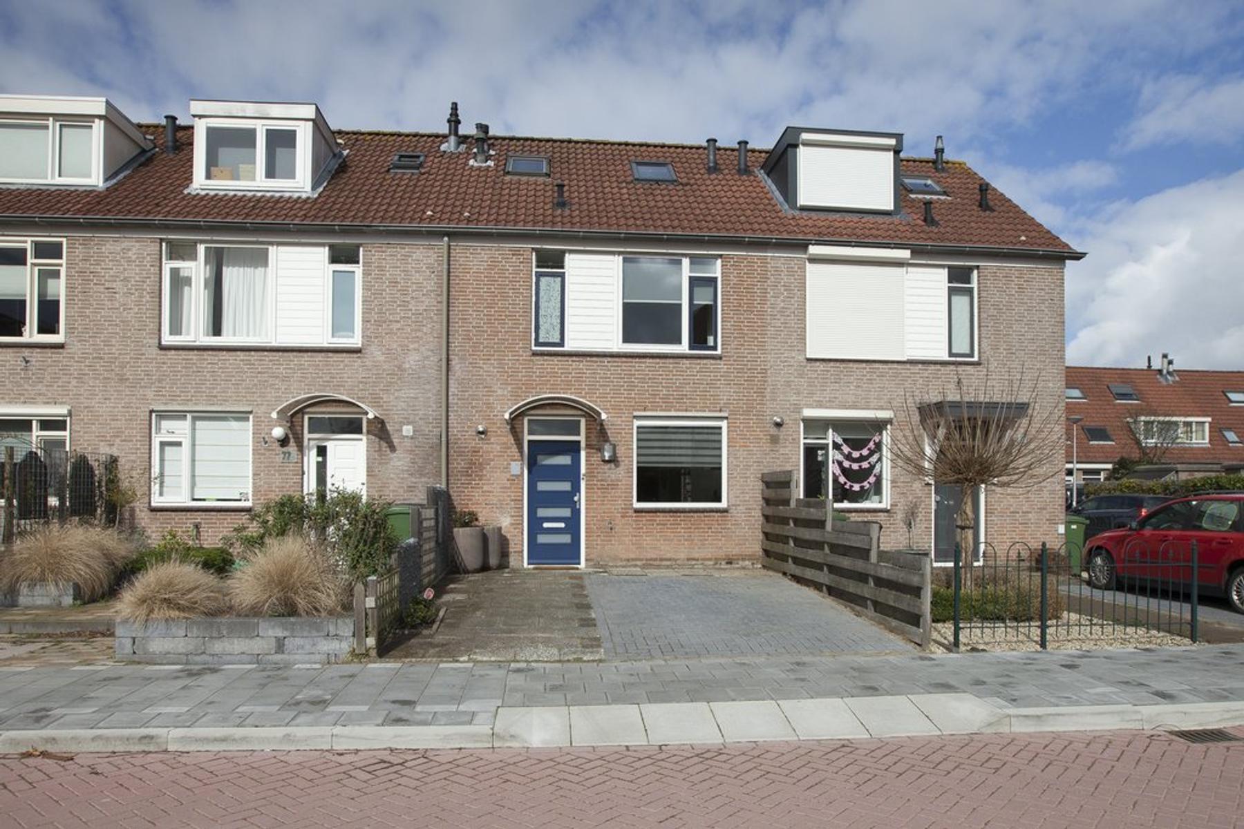 De Akker 75 in Waddinxveen 2743 DS