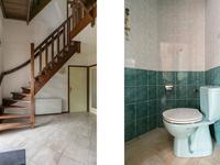 Indeling woning: <BR>U komt binnen in de hal welke is voorzien van een natuurstenenvloer en geschilderde metselwerk wanden. In de hal zit de meterkast, een toilet en de deur naar de woonkamer. Het toilet is volledig betegeld en heeft een fonteintje. <BR>Door de open houten trap en de zichtlijn naar de zolder ervaart u hier een waar gevoel van ruimte.