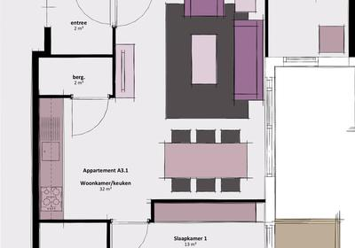 Appartement A3.1 in Waddinxveen 2743 CC