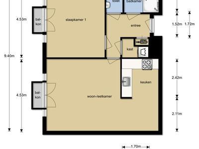 Statenlaan 435 in 'S-Hertogenbosch 5223 LH