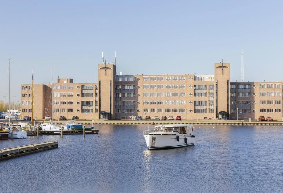 Te koop appartement met uitzicht over de Havenkom