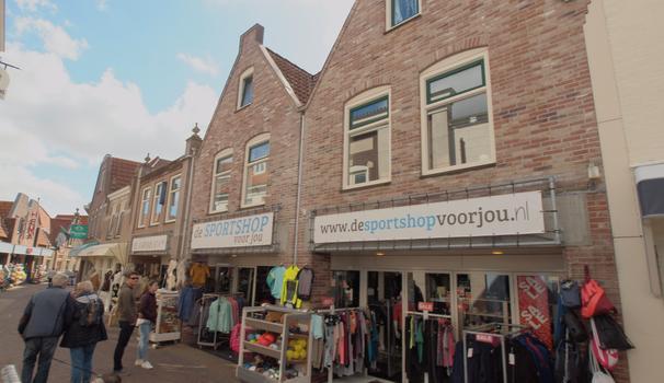 Weverstraat 8 -10-12 in Den Burg 1791 AD