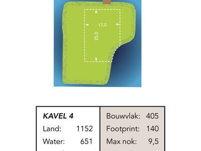 Bouwkavel (Bouwnummer 4) in Reeuwijk 2811 NP