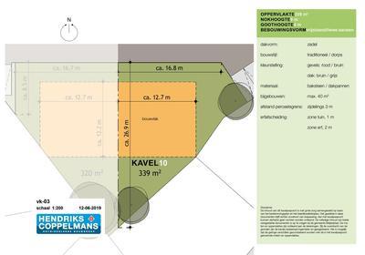 Bouwkavel 'T Veldje Kavel 10 in Erp 5469 NC