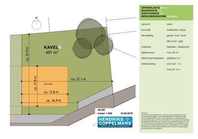 Bouwkavel 'T Veldje Kavel 9 in Erp 5469 NC