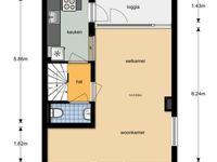 Gasthuiskamp 20 in Zutphen 7203 BJ