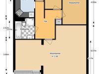 Kloosplantsoen 369 + 239 in Ridderkerk 2985 SK