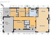 plattegrond beatrixstraat 8