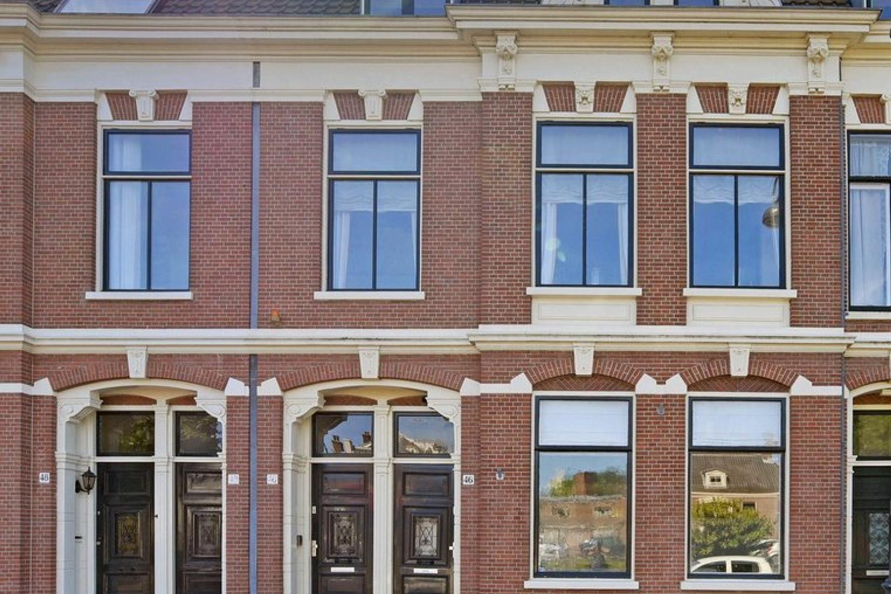 Kampersingel 46 Zwart in Haarlem 2012 DL